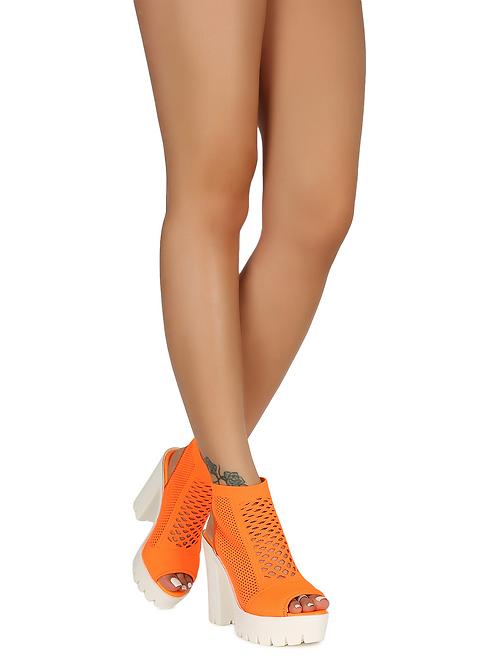 Camila- Neon Orange