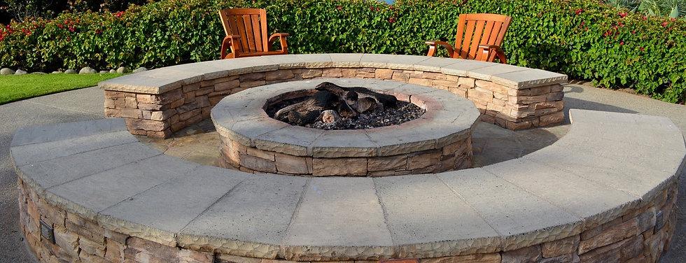 outdoor fire pit Leander