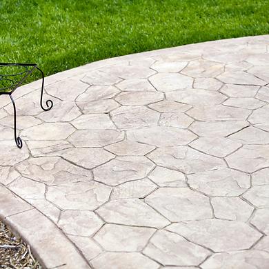 concrete patio Leander