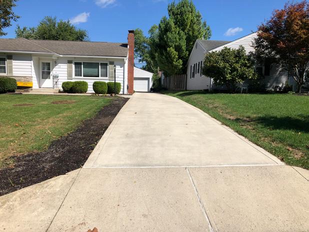concrete driveway Columbus Ohio