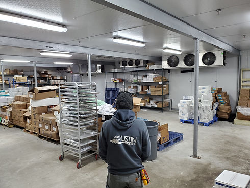 Commercial refrigeration repair Austin