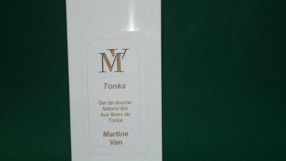 Gel de douche naturel Bio aux Fèves de Tonka