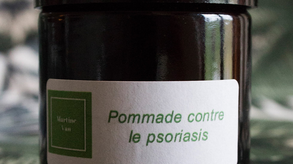 Pommade contre le psoriasis