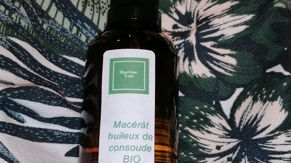 Macérât huileux de consoude 50 ml