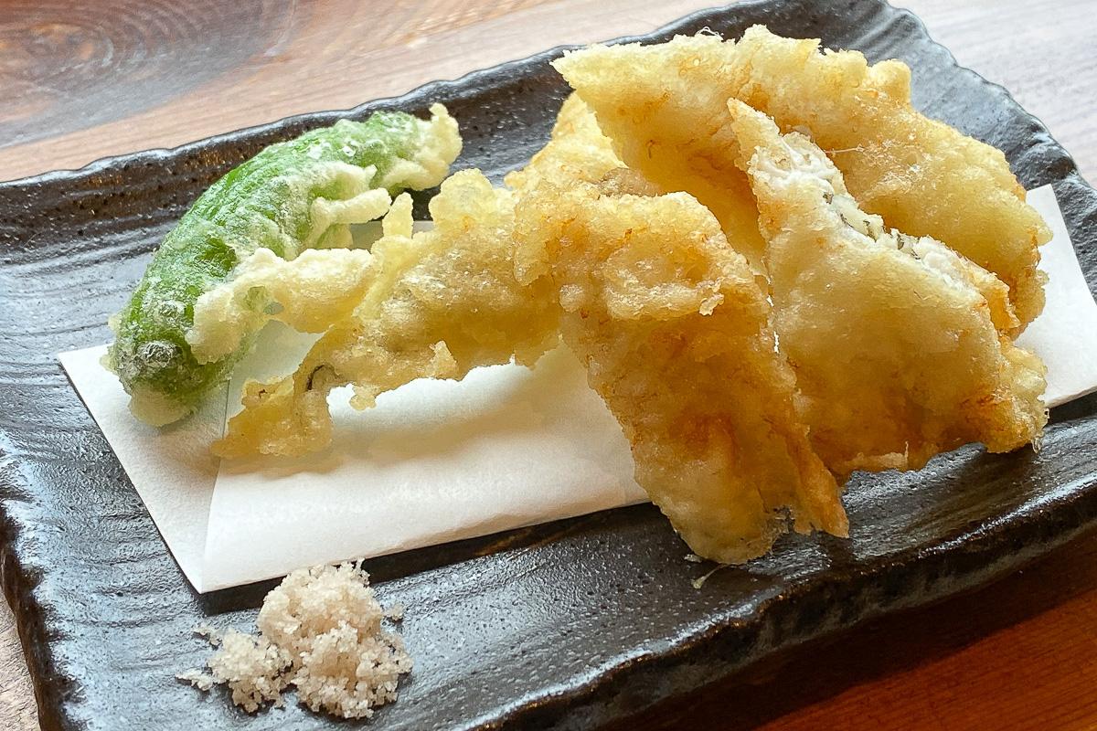 天ぷらそばの天ぷら