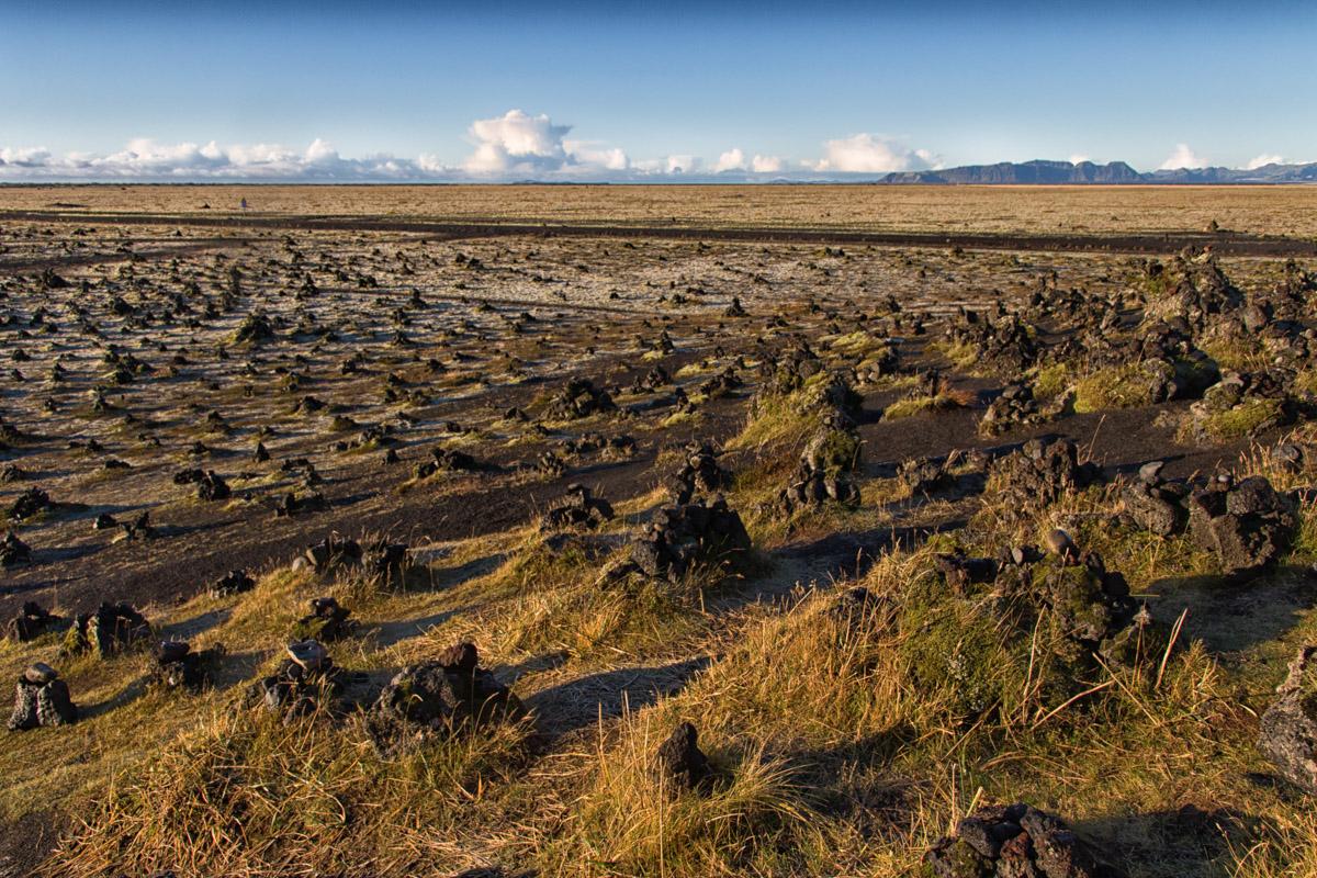 LAUFSKALAVARDA トゲトゲした岩の荒野