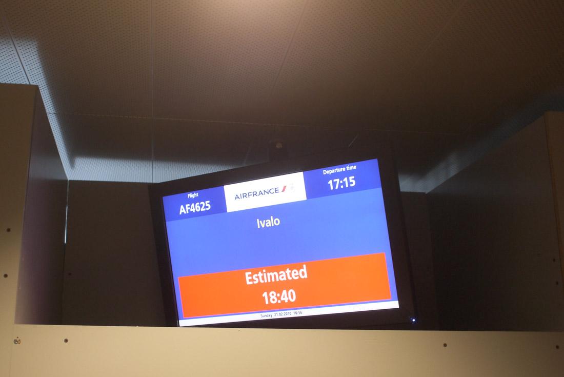 ヘルシンキからイヴァロへ