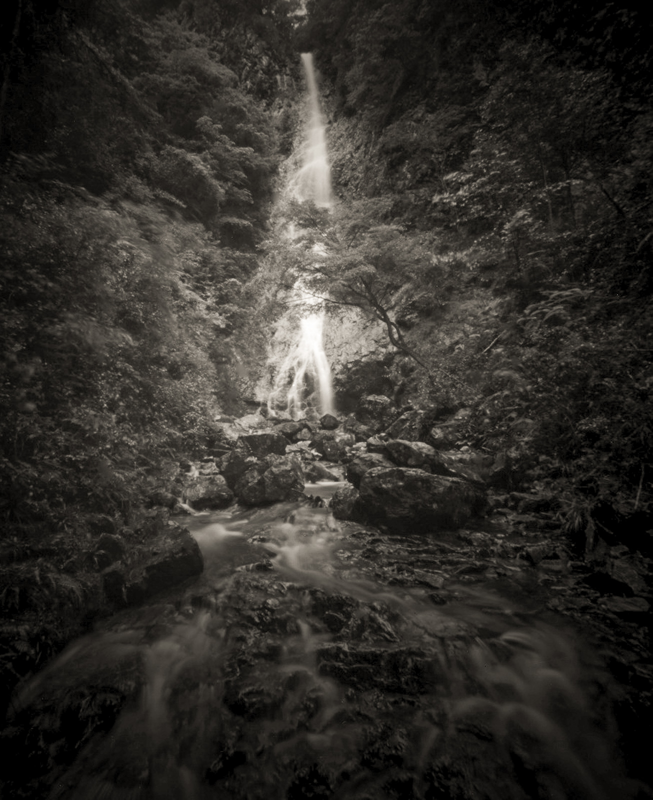 亀石の滝/新城市