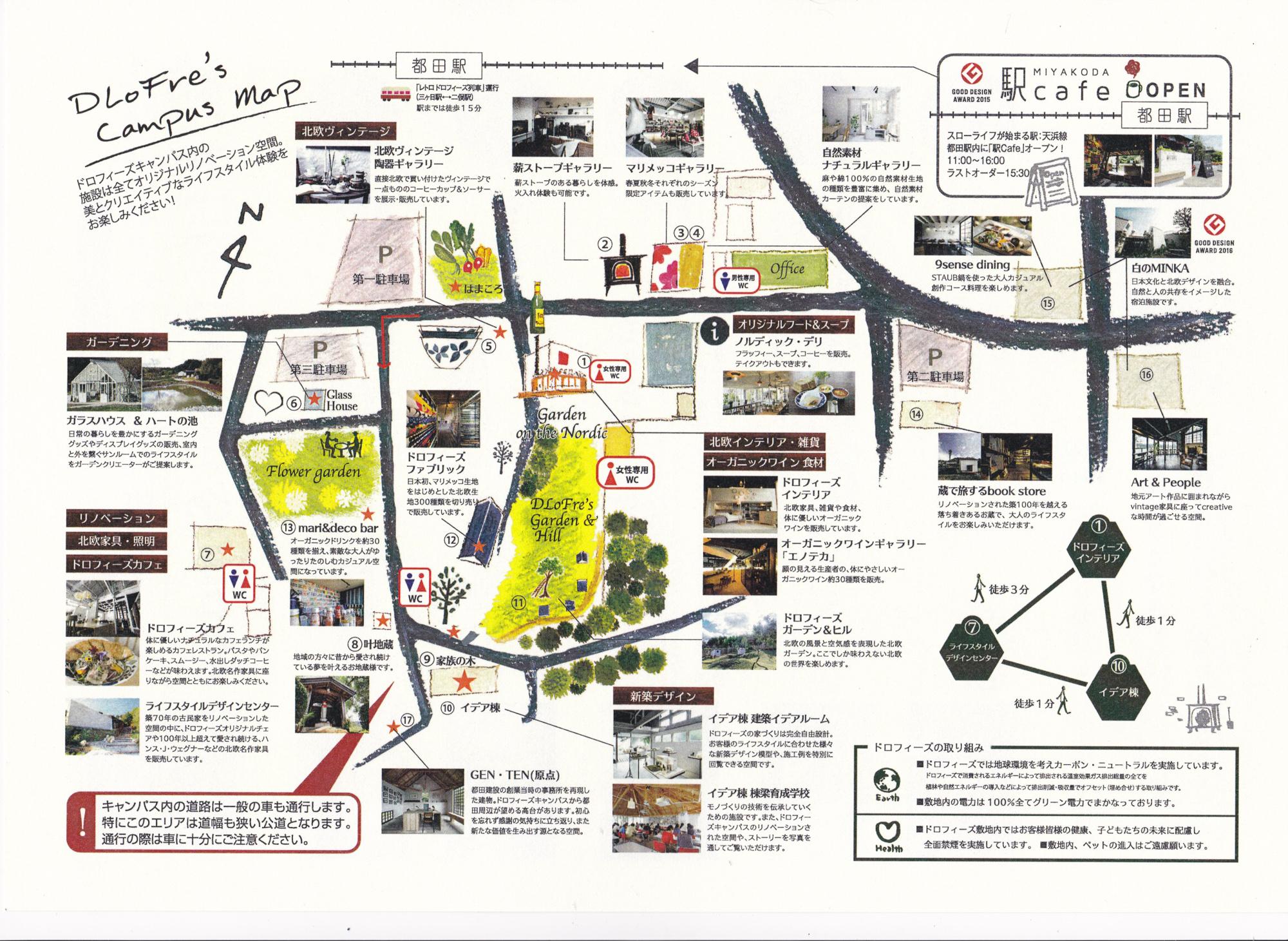 MIYAKODA MAP