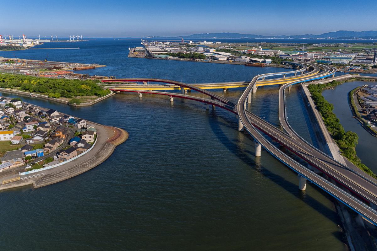 23号バイパス・豊橋港