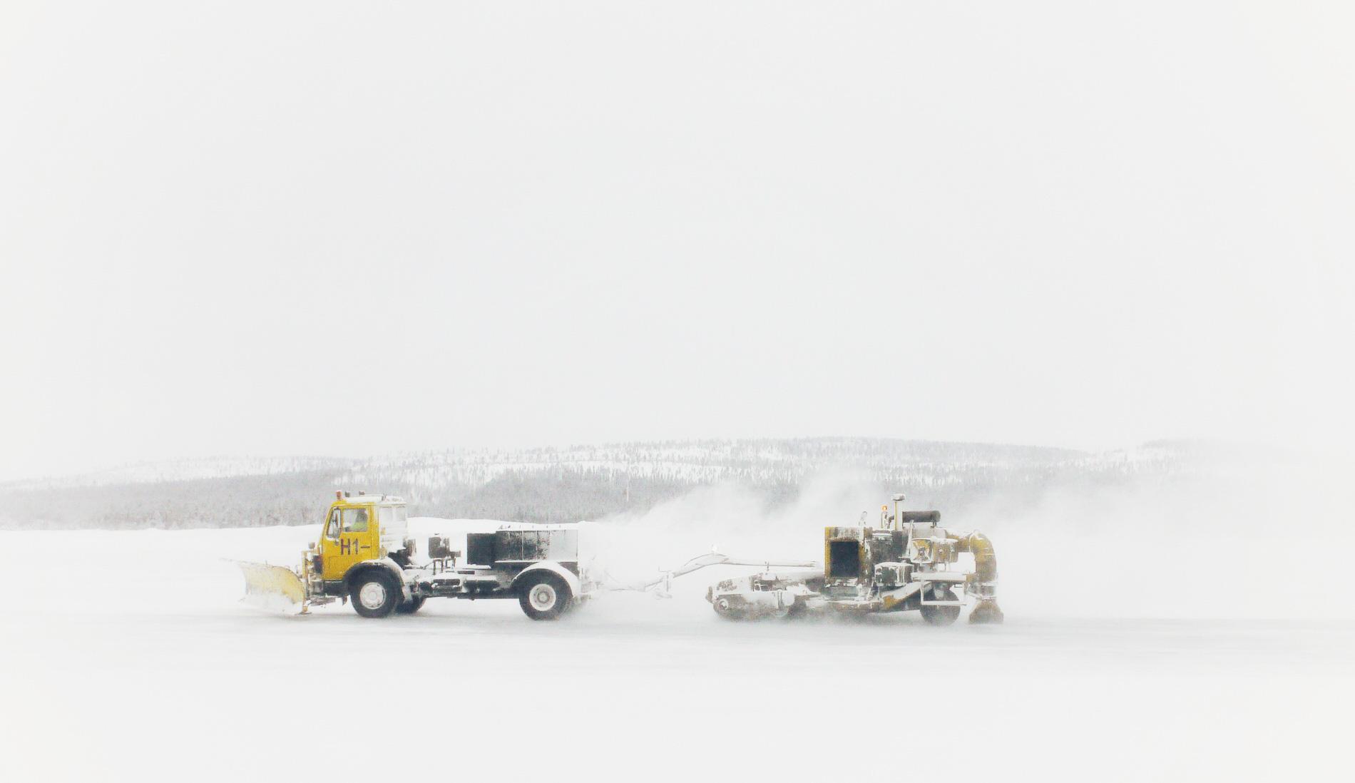 フィンランド・イナリ空港