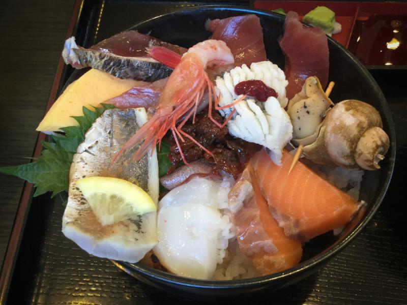 海鮮丼(まるみ)