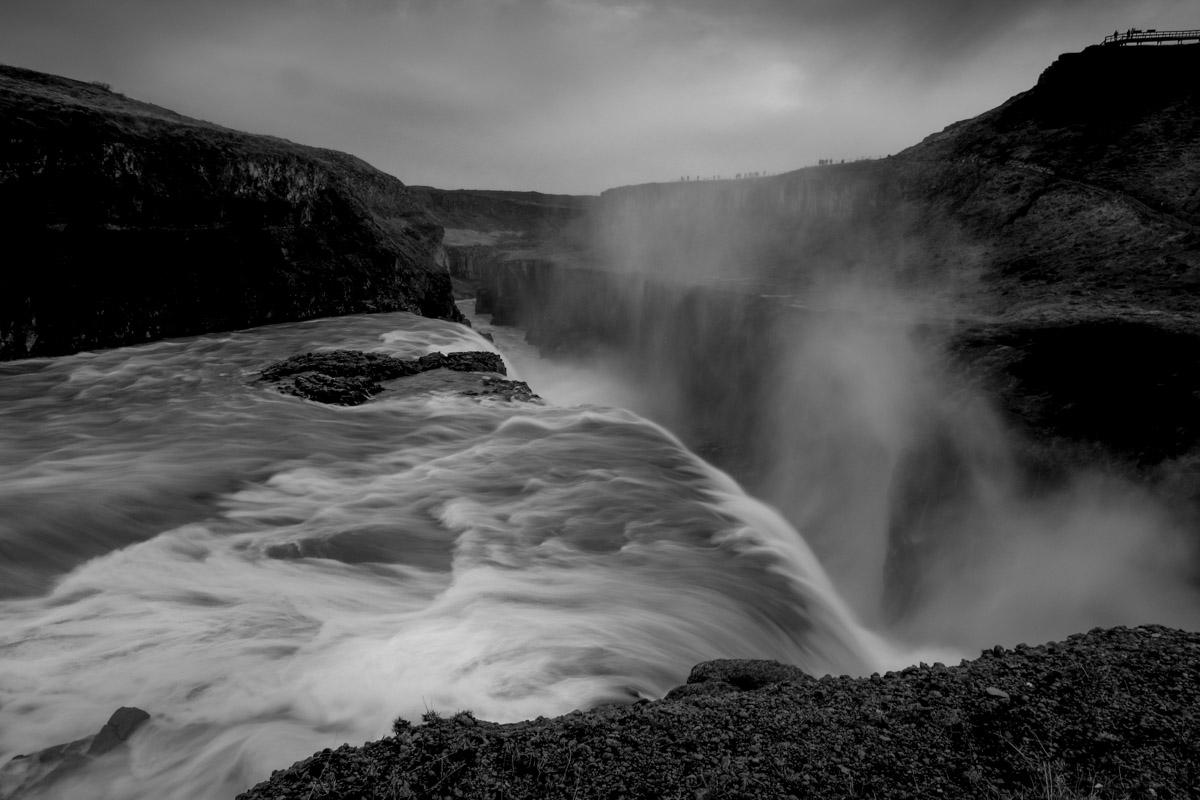 グトルフォスの滝 Gullfoss