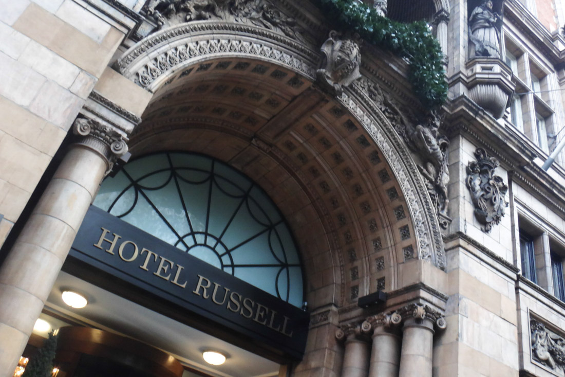 宿泊したRUSSELLE HOTEL