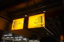 空港からロンドン市内は地下鉄で