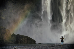 スコゥガフォスの滝 Skógafoss