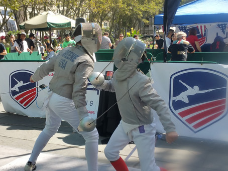 Integrity at USFA event in Bryant Park