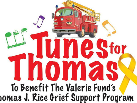 Join us at the Tunes for Thomas fundraising event!