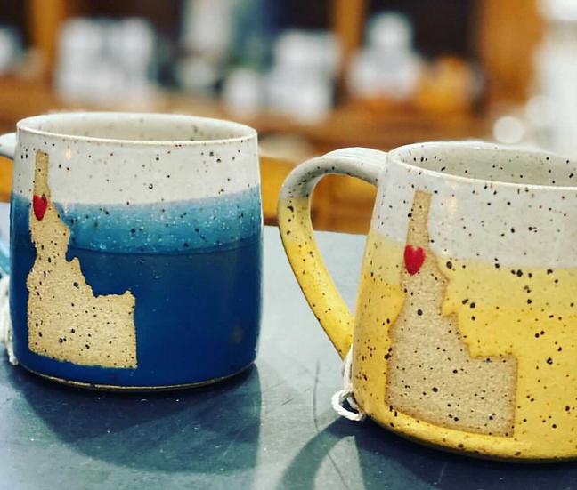 Silver Pine Studio Idaho State Mug