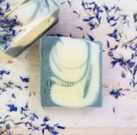 Flourish Botanicals Soap Bar- Earl Grey Tea