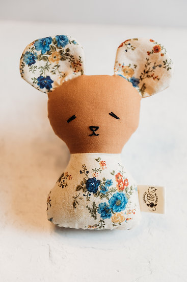 Blessed Lil Stitches Mouse Rattle