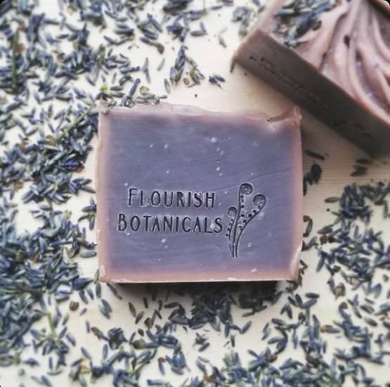 Flourish Botanicals Soap Bar- Lavender
