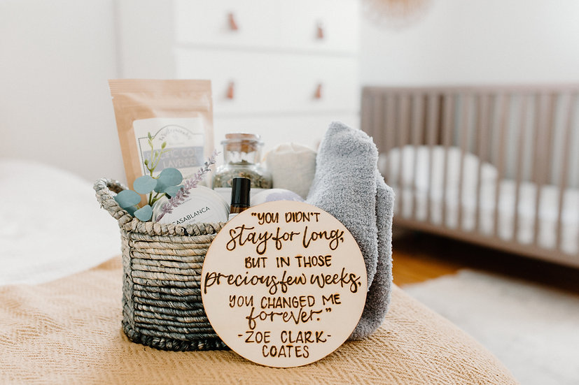 Miscarriage Gift Basket