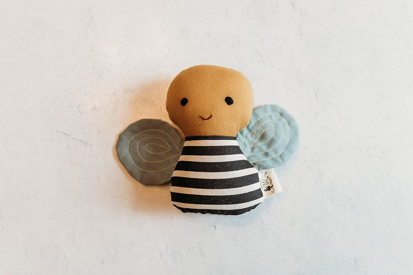 Blessed Lil Stitches Bee Rattle
