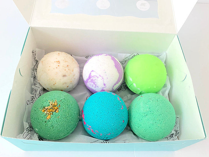 BeYOUtiful Bath Bombs and More Bath Bomb Gift Set- Relaxation