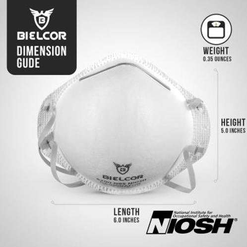 5 pack N95 Niosh Approved Masks