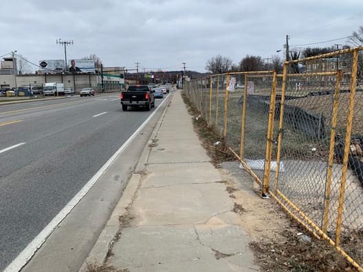 Existing View Hal Greer Boulevard
