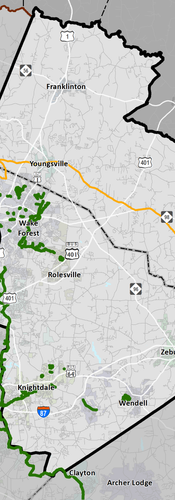 Existing Bike Facilities Map