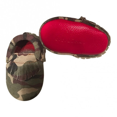 EXOTIC CAMO MOCCASIN SOFT SOLE