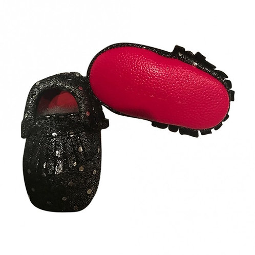 EXOTIC SEQUINS MOCCASIN SOFT SOLE