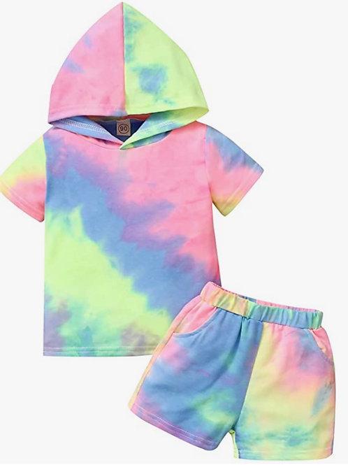 Mini Reignbow tie dye set