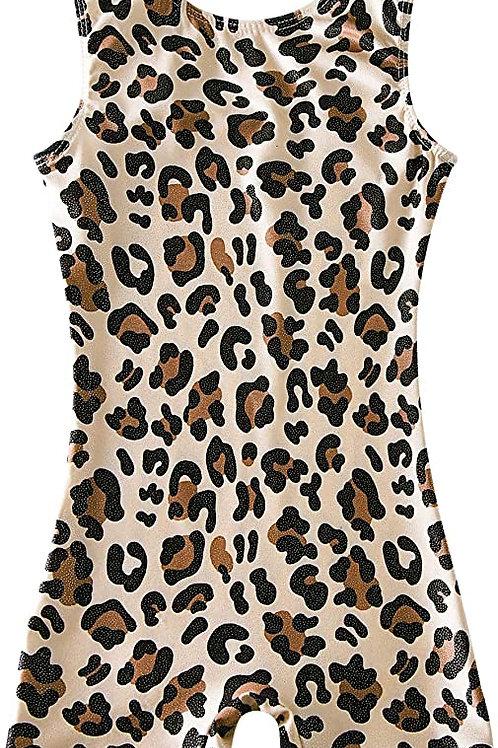 Love Leopard Romper