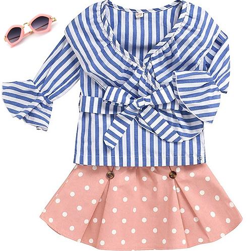 Stripes and Dots 2 piece set
