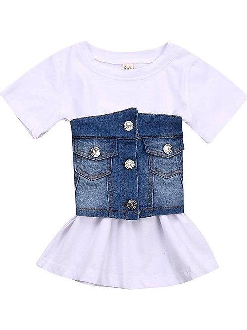 denim teeshirt dress