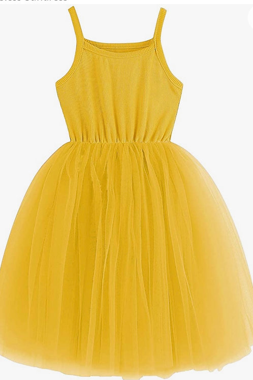 Lemonade tutu cute tulle dress