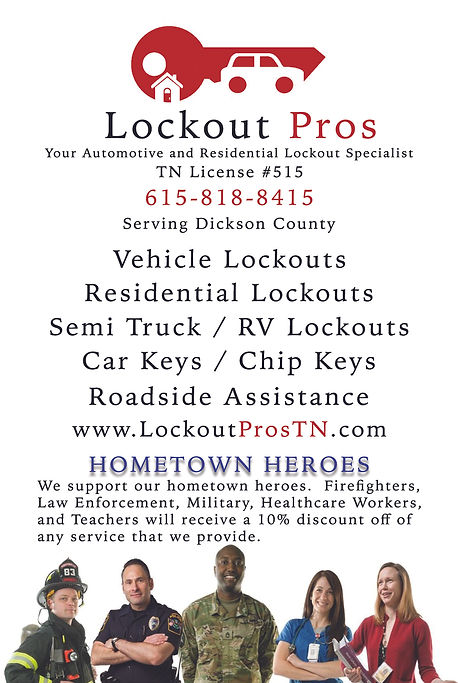locksmith near dickson tn