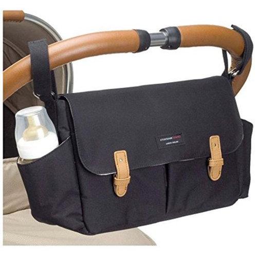 Storksak Stroller Organizer Bag - BLACK