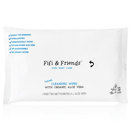 Fifi & Friends - Cleansing Wipes *Travel Size*