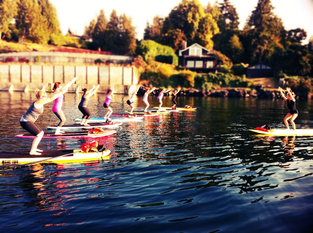 Group WASUP Yoga Classes
