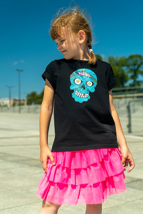 T-shirt BRAIN BLACK dla dzieci