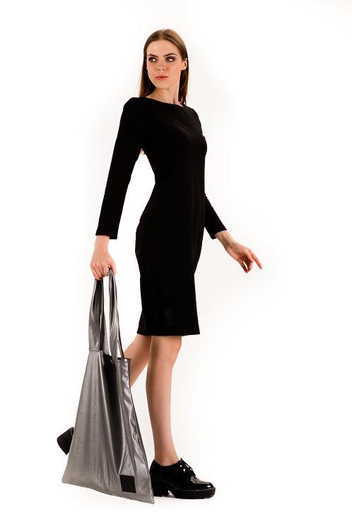 Sukienka 3D Czarna