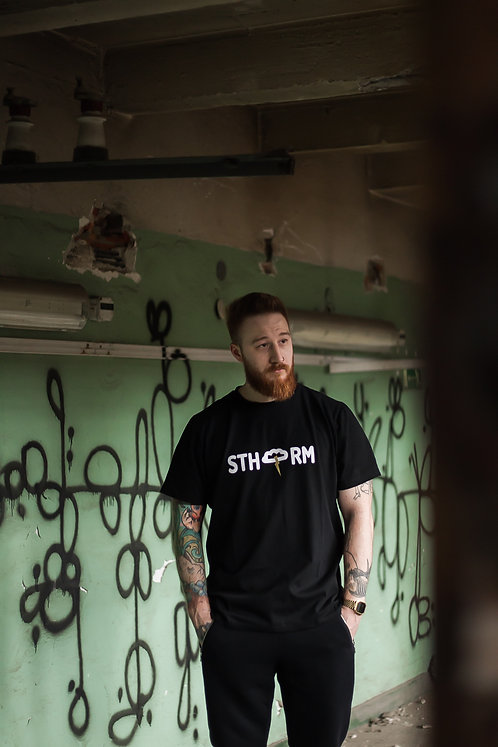 T-shirt Sthorm Black