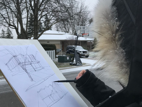 Winter Sketches