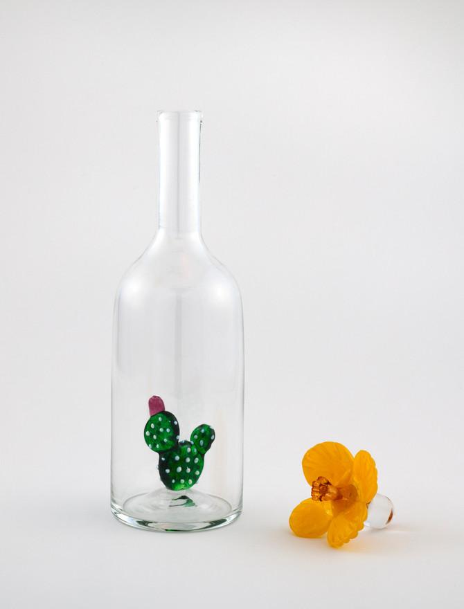 Prickly Pear Vodka Bottle