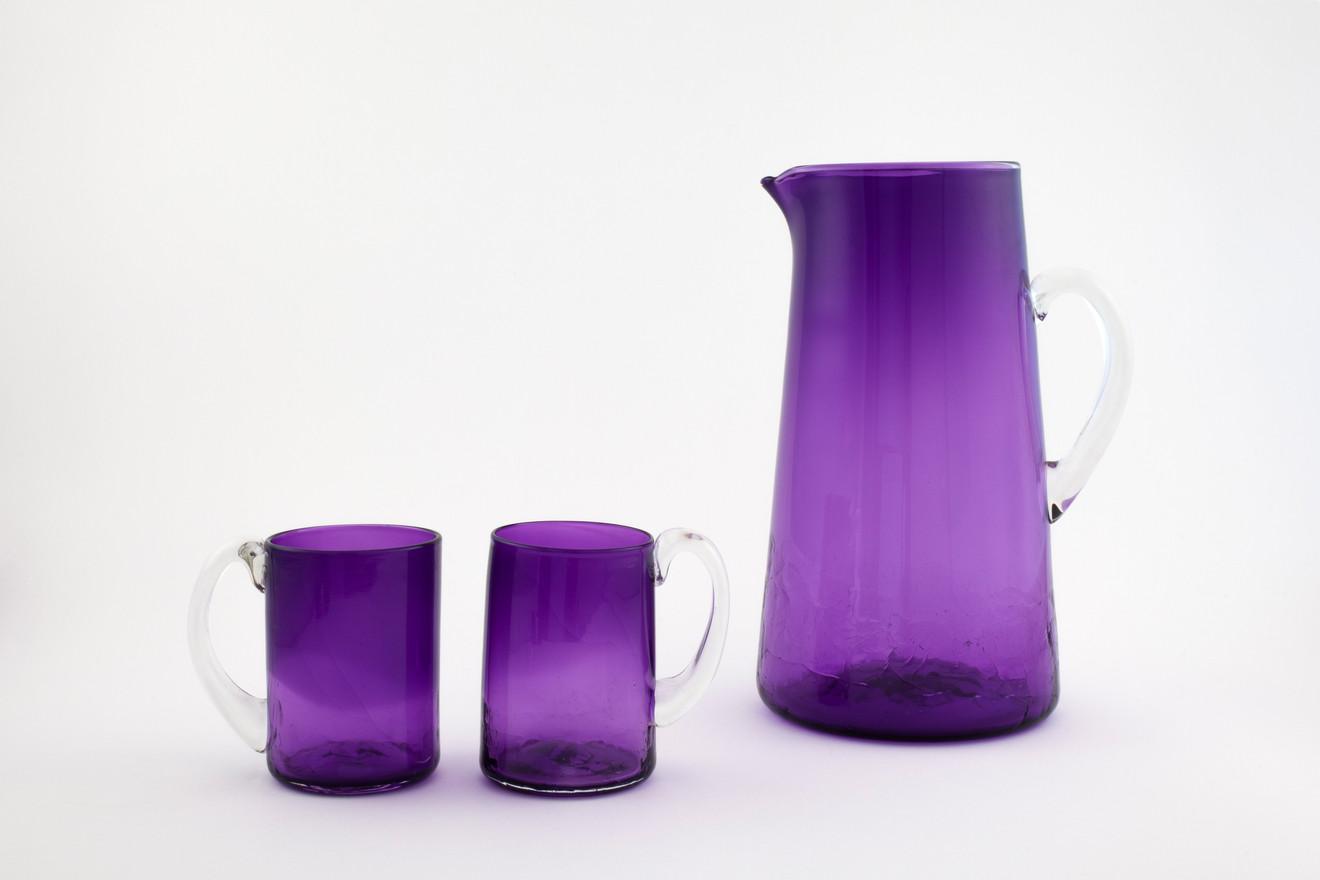 Peak Purple Pitcher Set