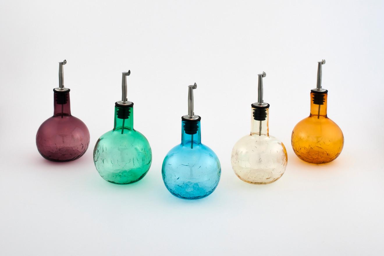Round Peak Bottles with Pour Spout